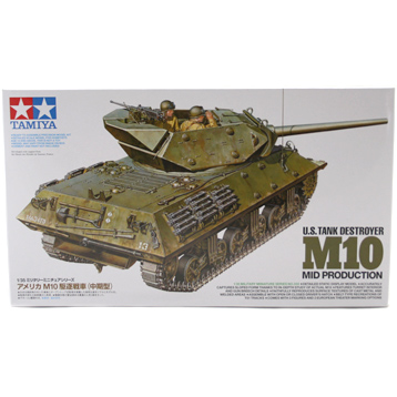 U.S. Tank Destroyer M10 Mid Production (Scale 1:35)