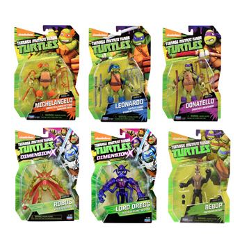 Turtles Action Figures Assorted