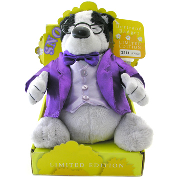 Snoozers Limited Edition Soft Badger Toy